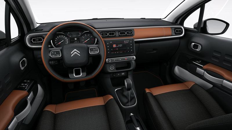 Inside the Citroen C3